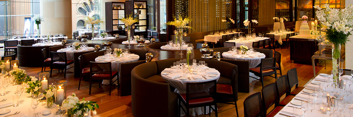Glass Brasserie events